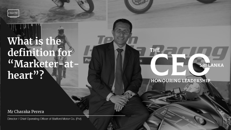 An Interview with Mr Charaka Perera, Director/ COO of Staford Motor Co.