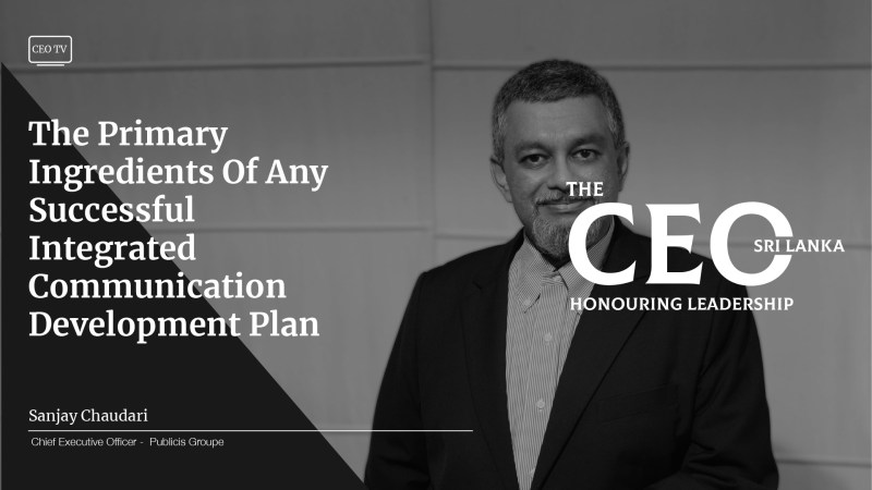 An Interview with Mr. Sanjay Chaudari, CEO of Publicis Groupe