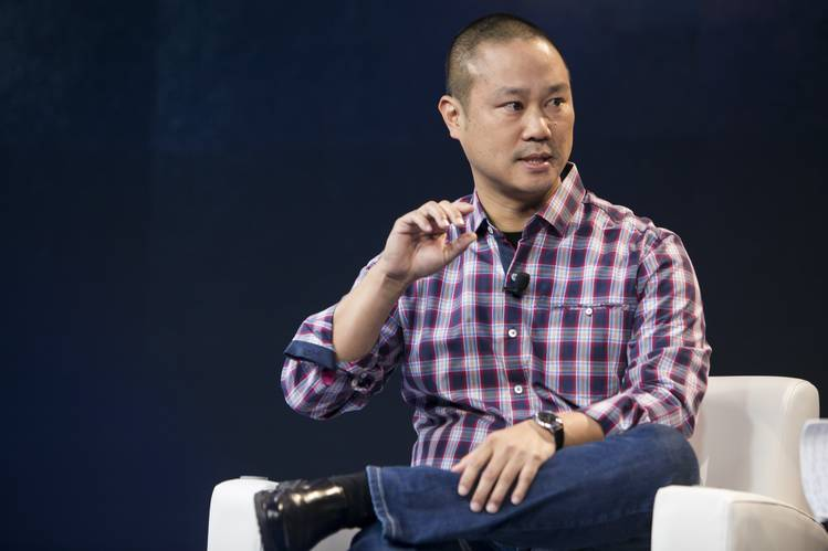 Zappos ex-boss and Las Vegas entrepreneur Tony Hsieh, 46, dies after house fire