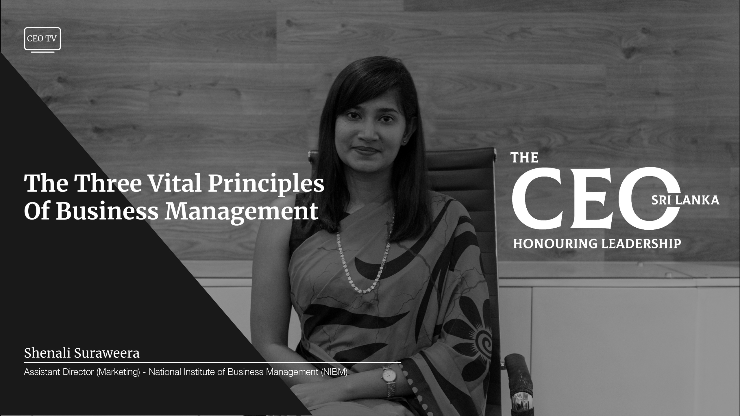 An Interview with Ms. Shenali Suraweera, the Assistant Director – Marketing of NIBM