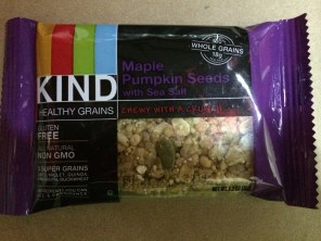 KIND Healthy Grain bar. Looking forward to trying this.