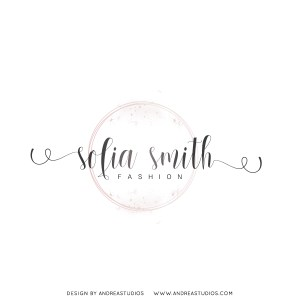 Premade Logo - Blush Circle