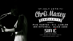 Chris J Maxey presents