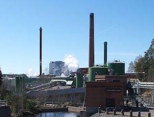 Metsa Board paper mill
