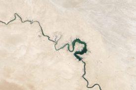 NASA river aerial