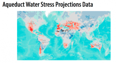 Aqueduct Water Stress Projections Data Logo