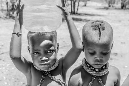 little water carriers in Namibia
