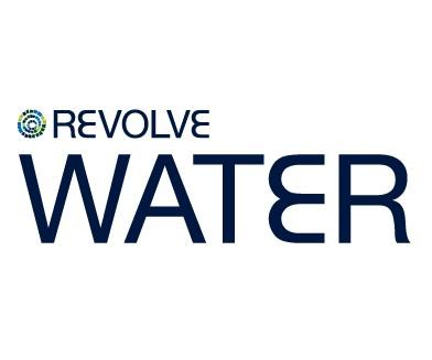 revolve water logo