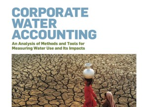 Corporate Water Accounting