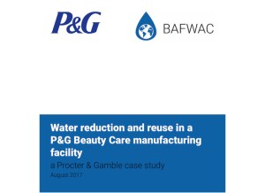 Procter & Gamble | Water Reduction and Reuse in a P&G Beauty Care Manufacturing Facility