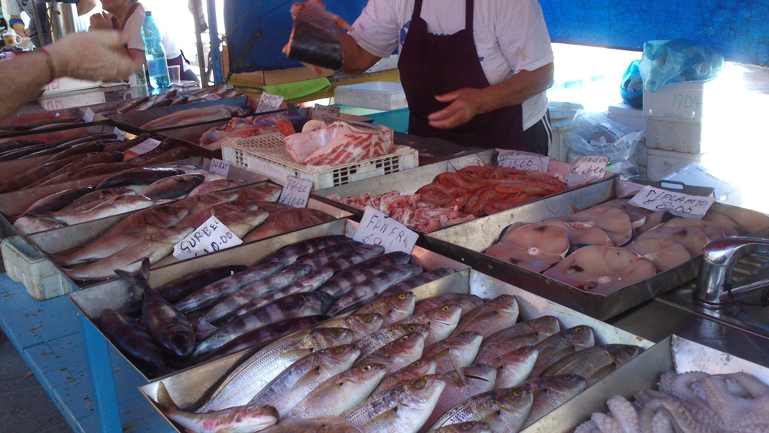 El consumo mundial de pescado en 2016 per cápita superó por primera vez los 20 kilogramos anuales