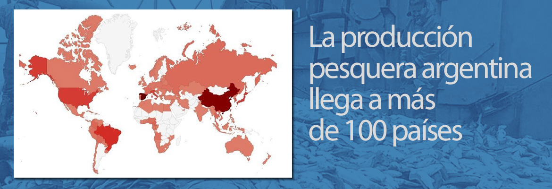 Producción Pesquera Argentina llega a más de 100 países
