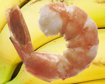 El camarón desplaza al banano como primer producto de exportación de Ecuador