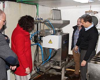 Buques gallegos incorporan equipos para prevenir parásitos en el pescado