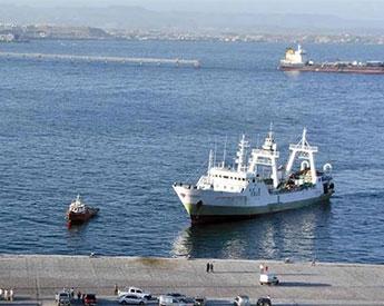 Pesquero español apresado deberá pagar una multa de USD 500.000