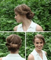 10 Quick And Easy Hairstyles For Updo Newbies Verily in 21+ Fine Church Hairstyles