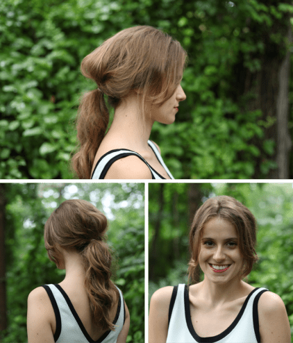10 Quick And Easy Hairstyles For Updo Newbies Verily inside ucwords]
