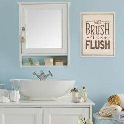 14 In X 18 In Bathroom Rules Wall Art throughout 23+ Outstanding Bathroom Wall Art Canvas