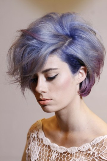 17 Stylish Hair Color Designs Purple Hair Ideas To Try Awesome intended for 22+ Outstanding Stylish Hair