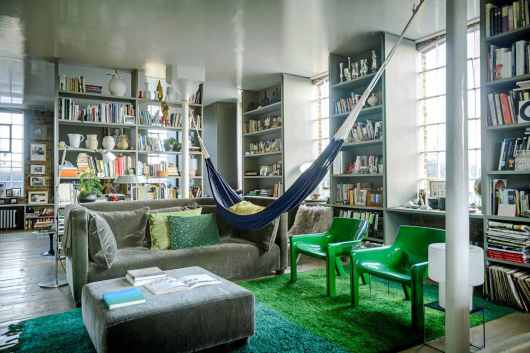 20 Ideas For Decorating With Indoor Hammocks inside 26+ Amazing Living Room Hammock