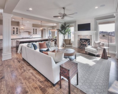 Awesome Living Room Dining Room Kitchen Open Floor Plans with regard to [keyword