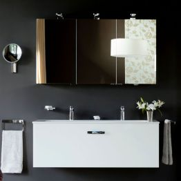 Bathroom Cabinets Also Available With Mirrors Lights Uk throughout 23+ Fine Bathroom Mirror Cabinet