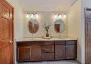 Bathroom Mirrors That Are The Perfect Final Touch Home Remodeling pertaining to 24+ Big Bathroom Mirror Trend In Real Interiors
