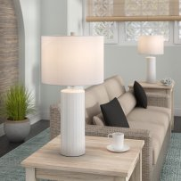 Beachcrest Home Heming 25 Table Lamp Reviews Wayfair pertaining to ucwords]