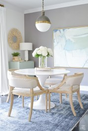 Casual Chic Dining Room Reveal Zdesign At Home within ucwords]