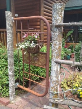 Charming Stickwork Rustic Garden Gates Ideas 17 Onechitecture regarding 26+ Best Wonderful Rustic Garden Decorations And Ideas