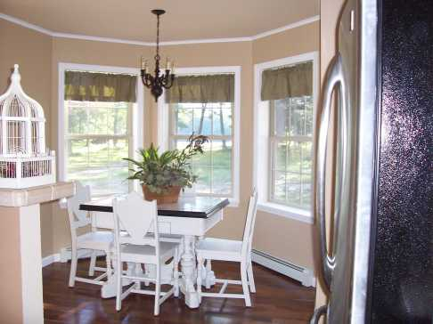 Chic Idea Dining Room Bay Window Curtain Ideas Diy Rod For Less Than for ucwords]
