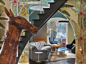 Colorful Eclectic Interior Design Is Collage Of Travels And intended for 31+ Dorable Eclectic Living Room
