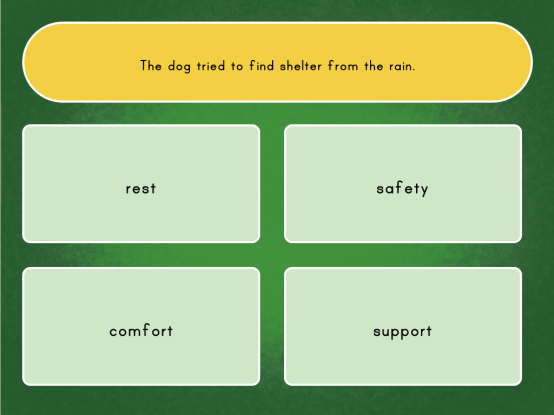 Context Clues Quiz Game Education pertaining to ucwords]