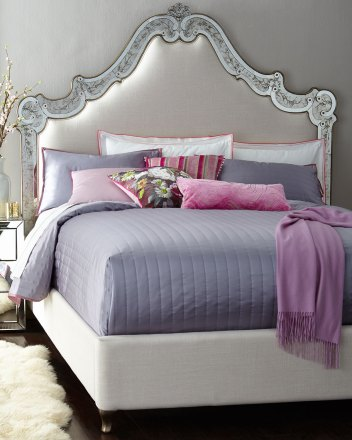 Cynthia Rowley For Hooker Furniture Venetian King Mirrored Bed inside 14+ Beautiful Bedroom Mirror Ideas Can Improve Your Bedroom