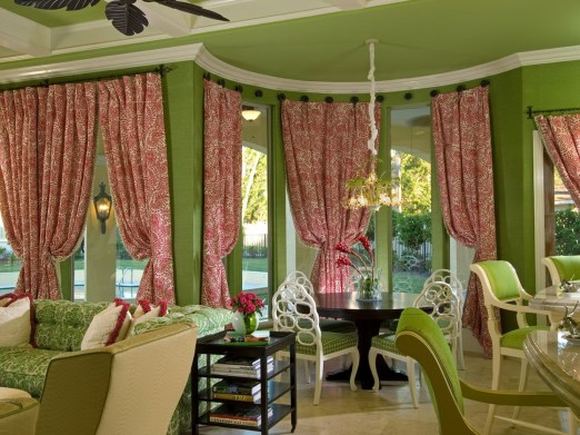 Dining Room Bay Window Curtain Ideas Home Design Ideas in 21+ Bay Window Ideas Blending Functionality With Modern Interior Design