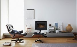 Eames Lounge Chair Ottoman with ucwords]