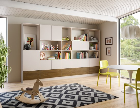 Family Room Cabinets Storage Solutions California Closets with [keyword