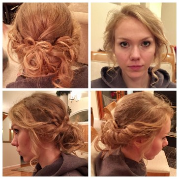 Fashion Alluring Pinned Pony Hairstyles Pics Christmas Church pertaining to [keyword