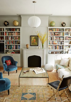 Get The Look An Eclectic Living Room Decorating Lonny within 31+ Dorable Eclectic Living Room