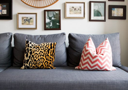 How To Select Living Room Pillows Heather Bien throughout [keyword