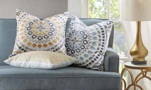How To Use Decorative Pillows In The Living Room Overstock in [keyword