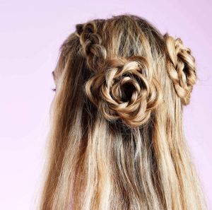 In Bloom 10 Flower Hairstyles Were Gushing Over Now pertaining to ucwords]