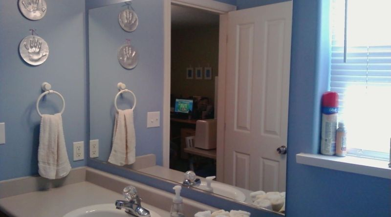 Licious Frameless Bathroom Mirror Large Treslotlaxtop with ucwords]