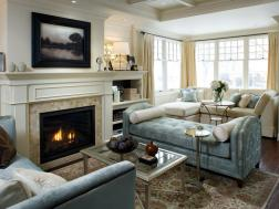 Living And Dining Room Renovation Divine Design Hgtv with 10+ Adorable Fireplace Living Room