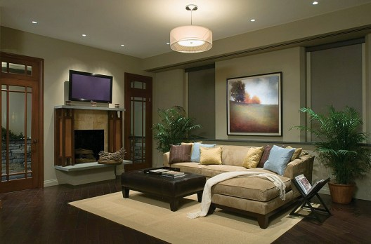 Living Room Lighting Ideas With Fireplace Kebreet Room pertaining to ucwords]