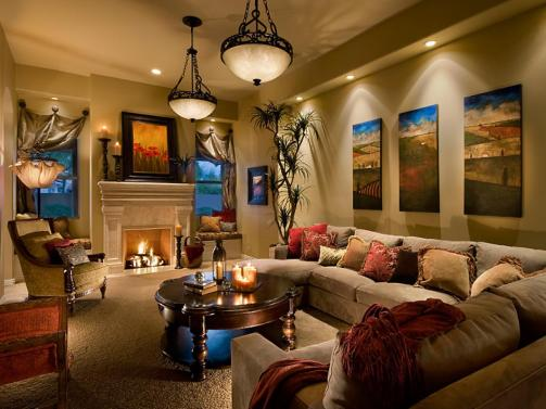 Living Room Lighting Tips Hgtv with ucwords]
