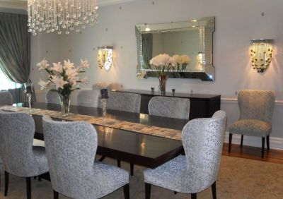 Marvelous Large Dining Room Wall Mirrors Ideas Best Exterior Mansion pertaining to 27+ Wall Mirror Diamonds Triangles Wall Art Acrylic Mirror Wall Sticker