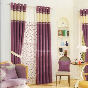 Modern Purple Linen Living Room Curtains 2016 New Arrival Chs05111617484 in ucwords]