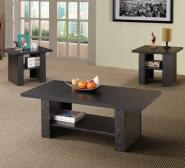 Occasional Table Sets Contemporary 3 Piece Occasional Table Set Coaster At Value City Furniture intended for [keyword