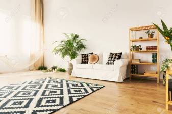 Original Living Room With Hammock In Bright Natural Apartment intended for [keyword